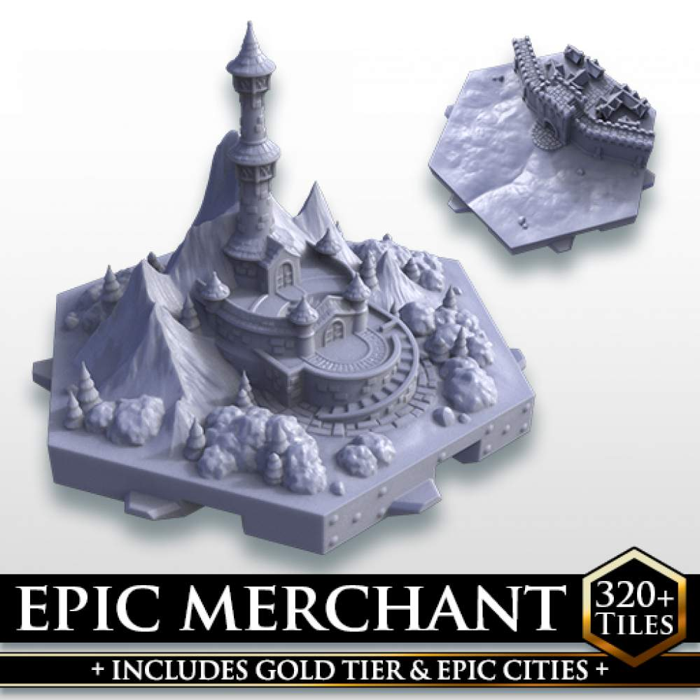 Epic Merchant Tier's Cover