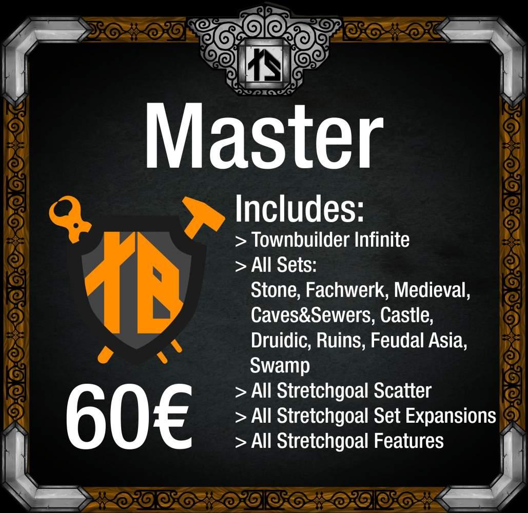 Townbuilder Master's Cover