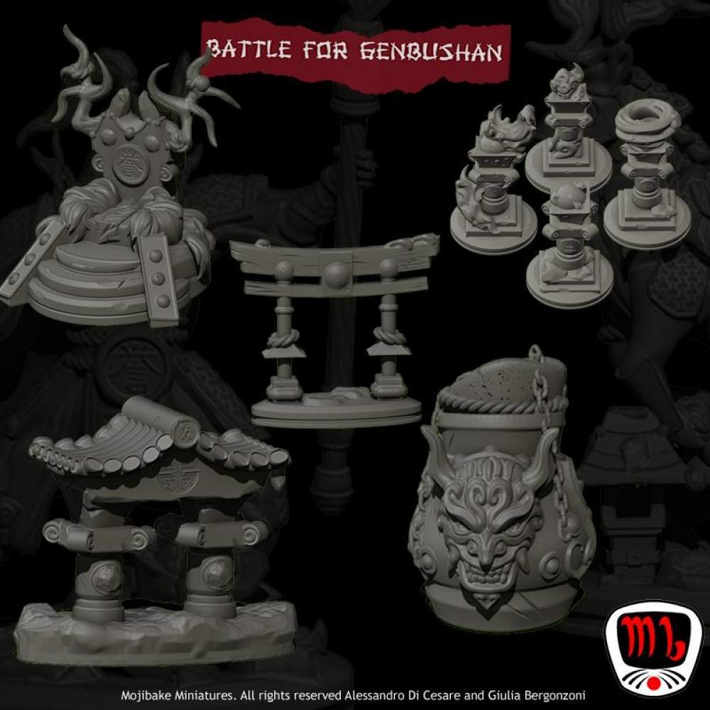 Late Pledge - Terrain & props Only (Pre Supported)'s Cover
