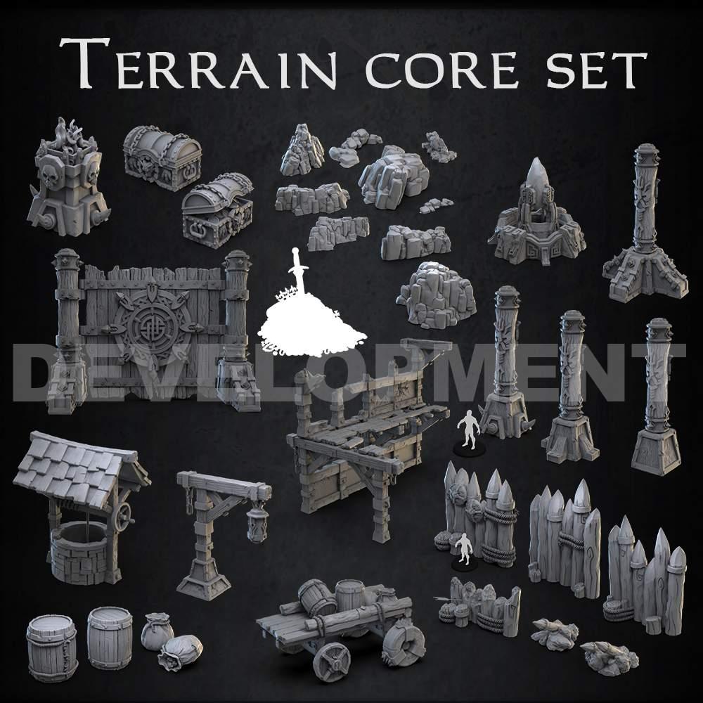 Basic Terrain core set's Cover
