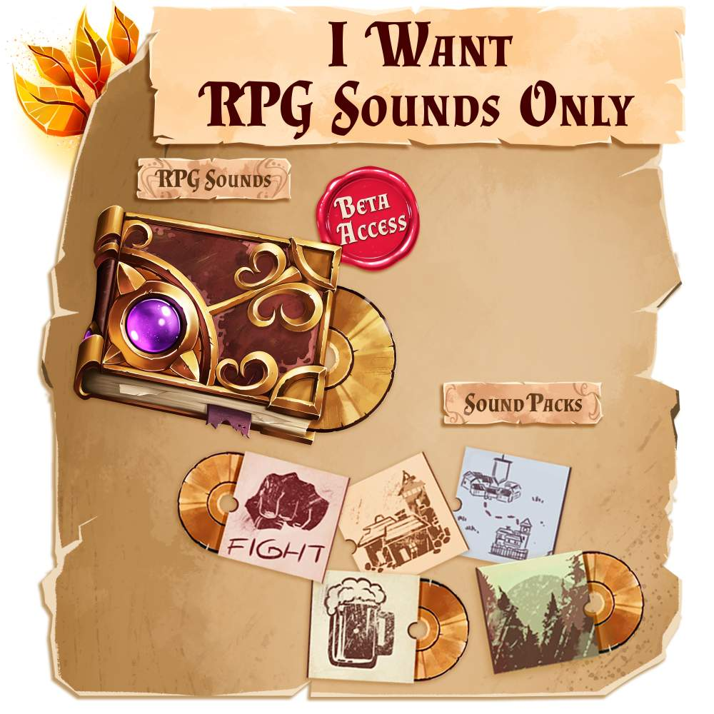 Give me RPG Sounds Only!'s Cover