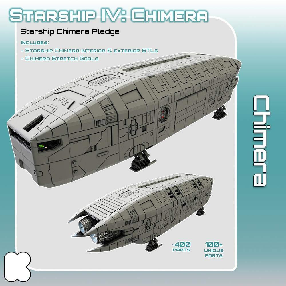 Starship Chimera's Cover