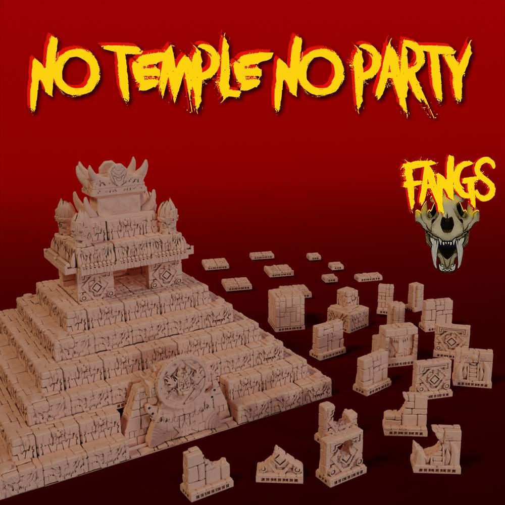 No Temple, No party's Cover