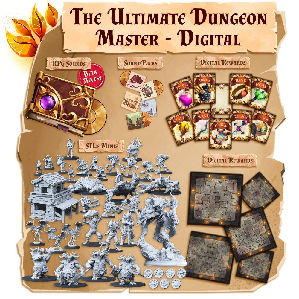 The Ultimate Dungeon Master - Digital's Cover