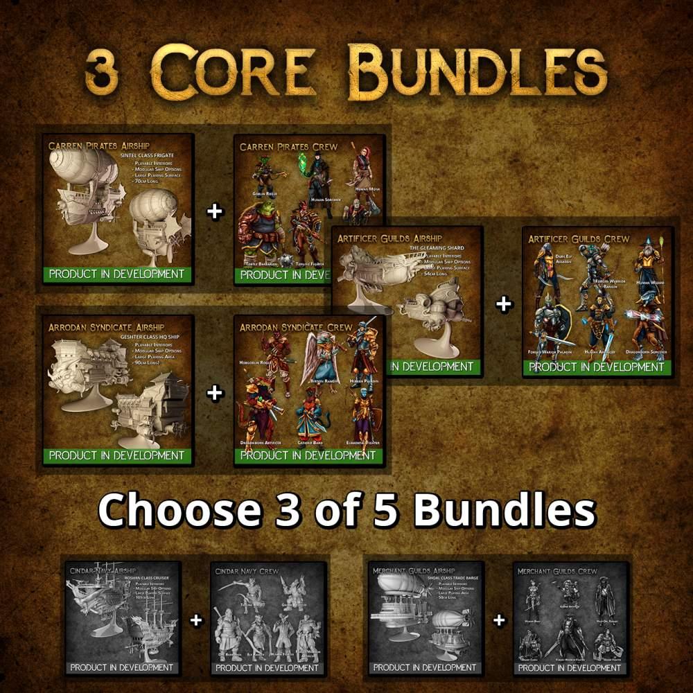 3 Core Bundles's Cover