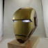 Iron man Inspired face mask print image