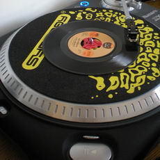 45 RPM vinyl adapters