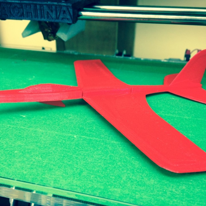 Picture of print of Super Stratos Glider This print has been uploaded by Didsbury Makerspace