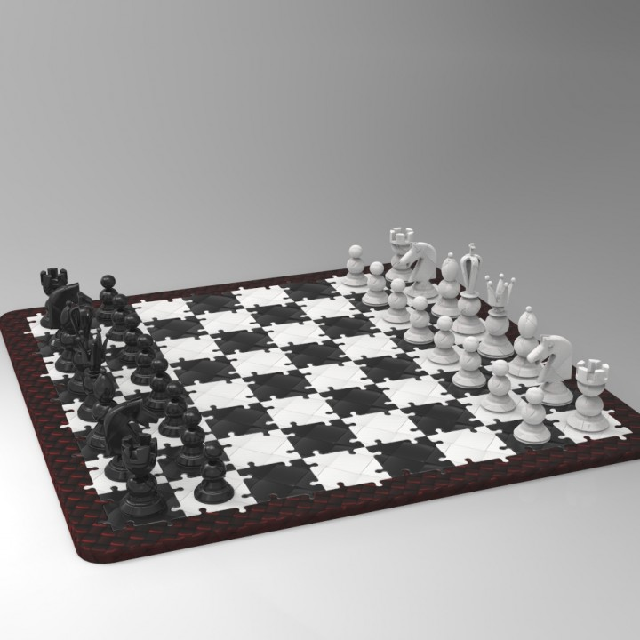 Jigsaw Chess