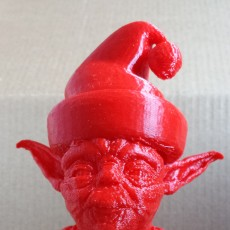 Picture of print of Santa Yoda This print has been uploaded by Liz Gustafson