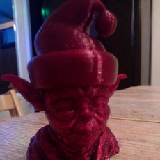 Picture of print of Santa Yoda This print has been uploaded by Els Meulendijks