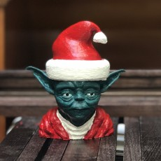 Picture of print of Santa Yoda This print has been uploaded by Oliver Rehusch