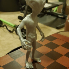 Picture of print of Grey Alien
