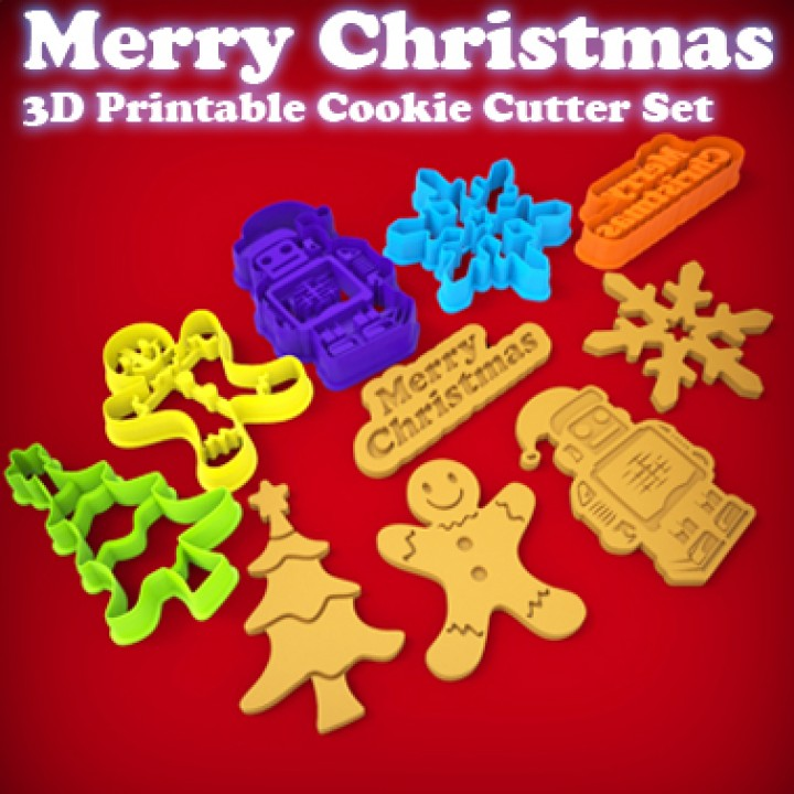 Merry Christmas - Cookie Cutter Set