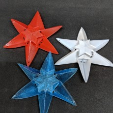 Picture of print of Foldable Star