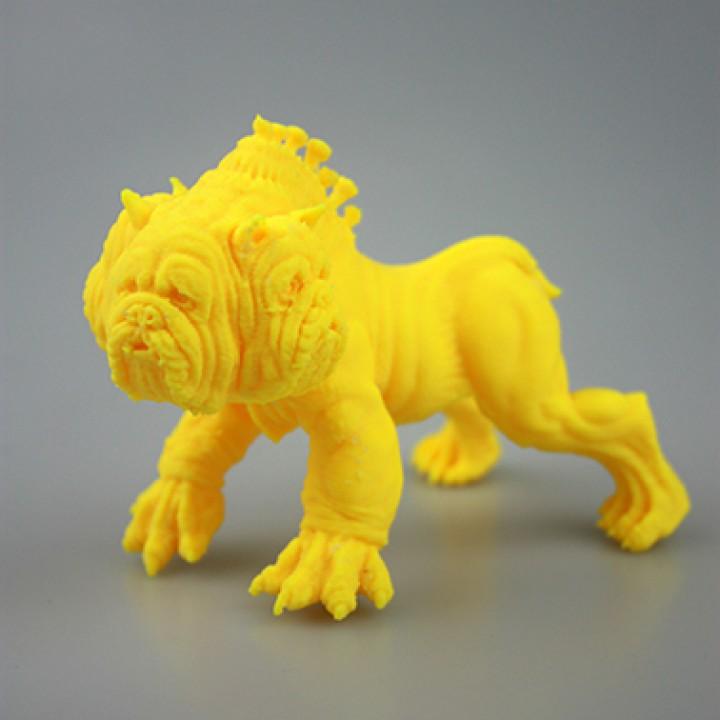 3D Printable Cerberus by Fabio Bautista
