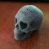 Love Skull print image