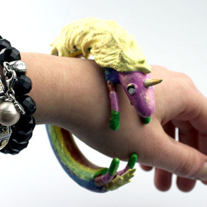 Lady Rainicorn Bangle