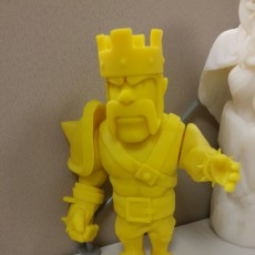 Picture of print of Barbarian King Clash Of Clans