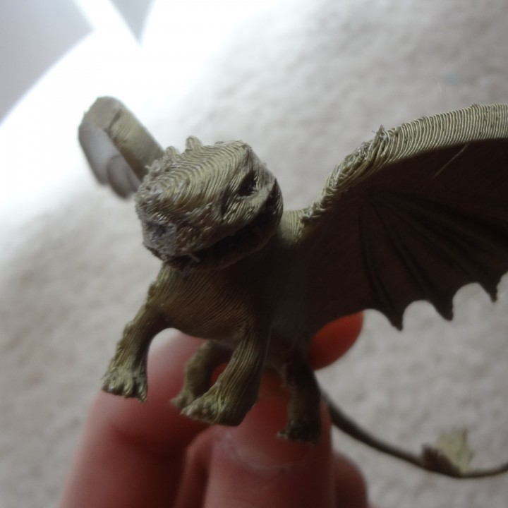 3d Print Of Night Fury Dragon Von Willstef