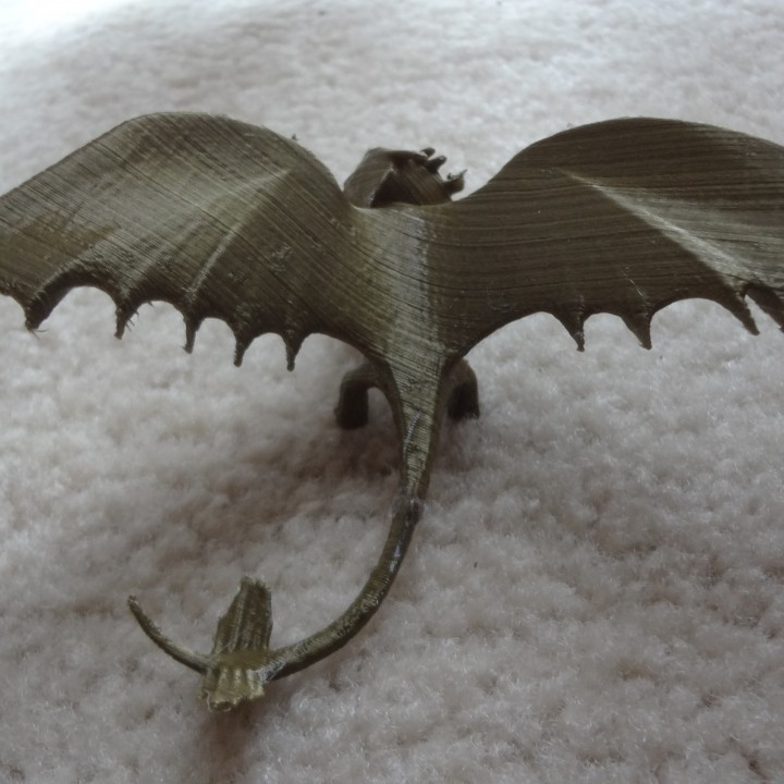 Picture of print of Night Fury Dragon This print has been uploaded by will stefany