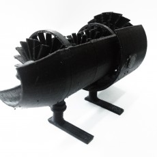 Picture of print of Turbofan engine
