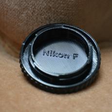 Picture of print of Nikon F Mount Body Cap