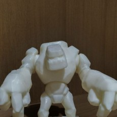 Picture of print of Golem Lv.1 Clash of Clans