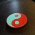 The Yin and Yang print image