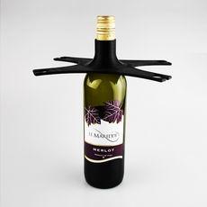 Wine Bottle 4 Glass Holder