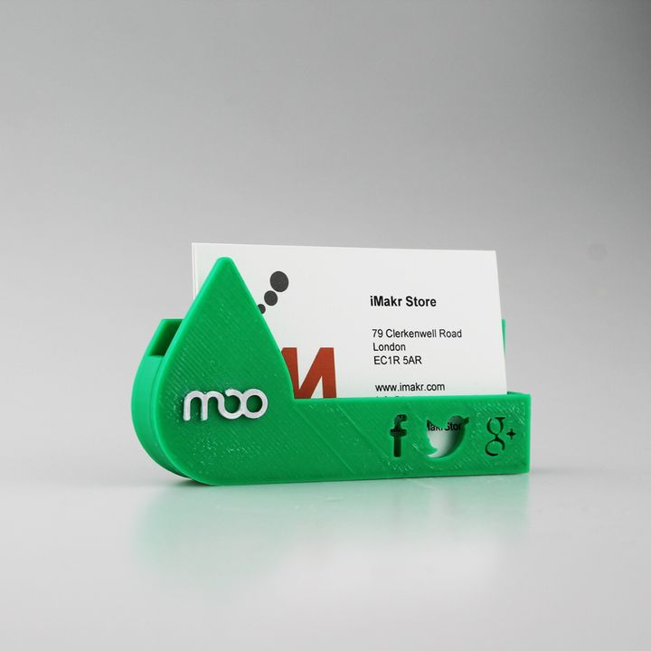 MOO Business Card Holder