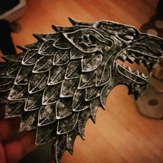 Picture of print of House Stark Game Of Thrones Esta impresión fue cargada por David Forget