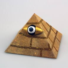 Mythical Eye Pyramid