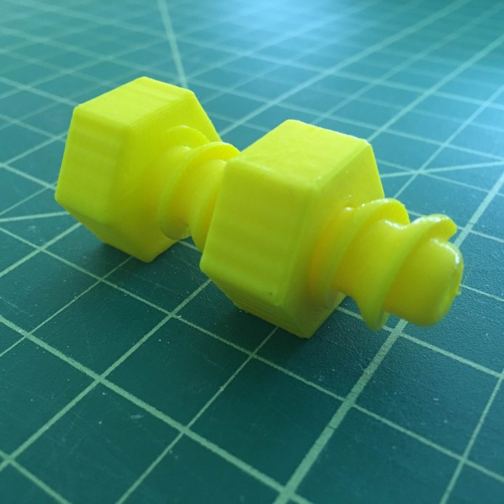 Picture of print of Support free strong Bolt This print has been uploaded by Danny Lin