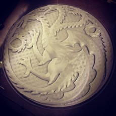 Picture of print of House Targaryen Game of Thrones Esta impresión fue cargada por Austin K Butler