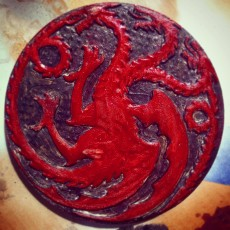 Picture of print of House Targaryen Game of Thrones