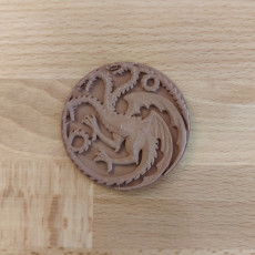 Picture of print of House Targaryen Game of Thrones Esta impresión fue cargada por Bojan Kopanja