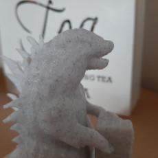 Picture of print of Godzilla