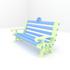 English Heritage Desktop Park Bench image