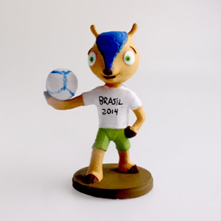 2014 World Cup Mascot Fuleco