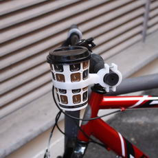 Bike coffee holder