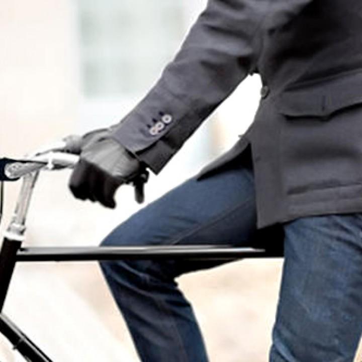 Bike coffee holder