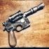 Han Solo's Blaster Star Wars print image