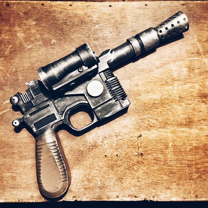 Picture of print of Han Solo's Blaster Star Wars This print has been uploaded by Jeroen Tissen