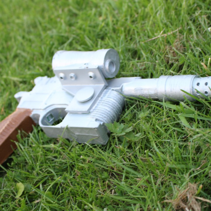 Picture of print of Han Solo's Blaster Star Wars This print has been uploaded by Saxon Fullwood