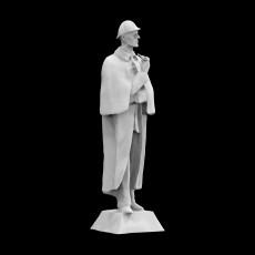 Sherlock Holmes Statue at Baker Street, London