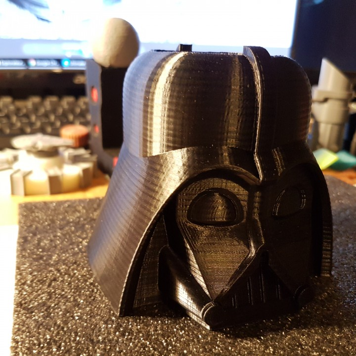 Picture of print of Darth Vader Pen Cup This print has been uploaded by Math Bruce
