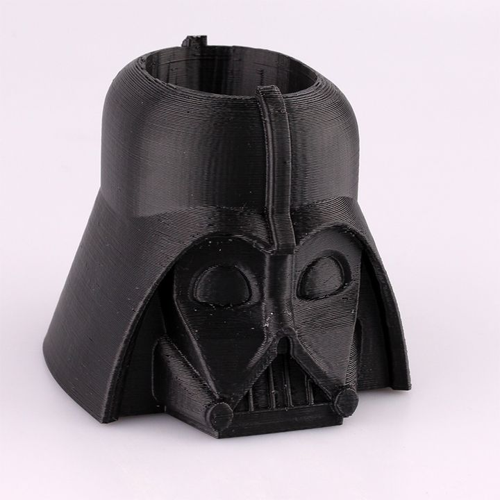 3d Printable Darth Vader Pen Cup By Stephanie Piper