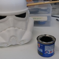 Picture of print of Stormtrooper Pen Cup