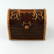Treasure Chest Money Box